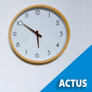 Horaires de la mairie - août