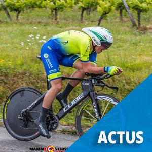 Un jeune champion cycliste fêté à Loudes