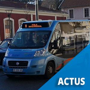Du transport à la demande en place sur Loudes