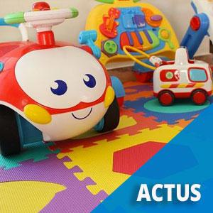 Une collecte de jouets à la Mairie